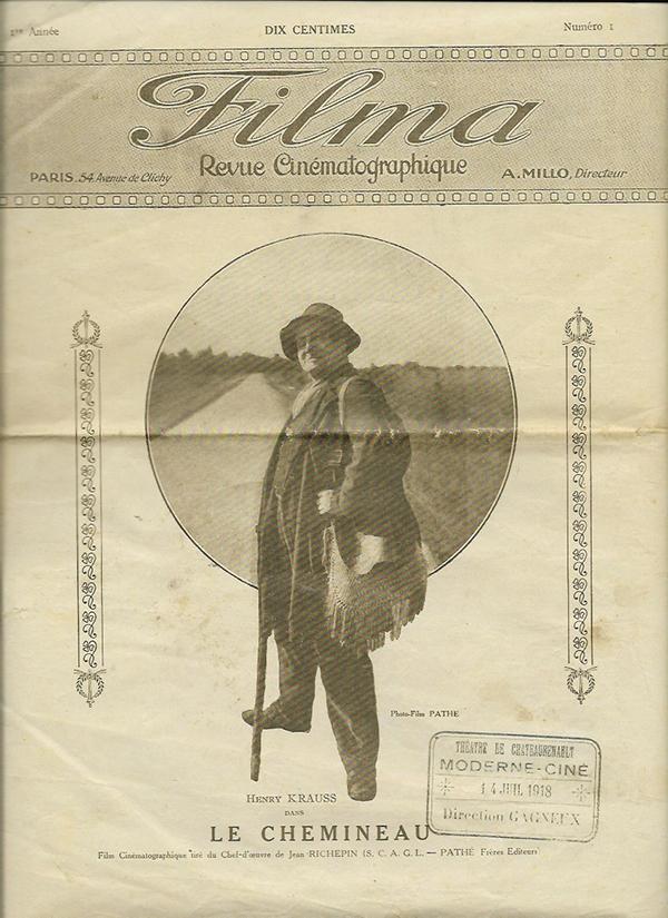 ancienne affiche cinema